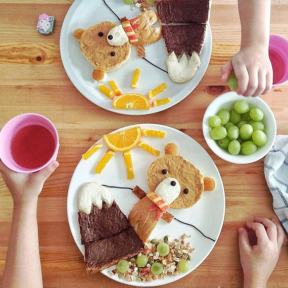 готовим завтраки для детей