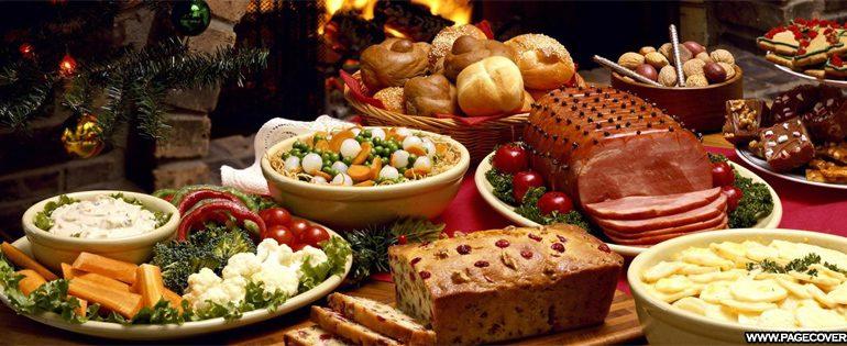 новогодний стол,праздник