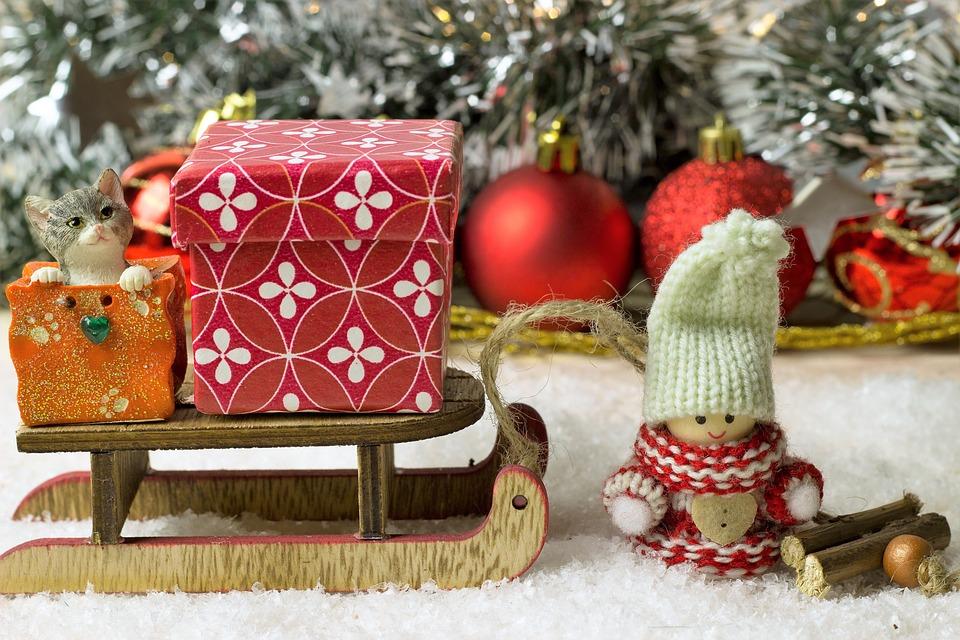 подарки в Рождество