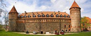 замок, Бытув,Польша.туризм