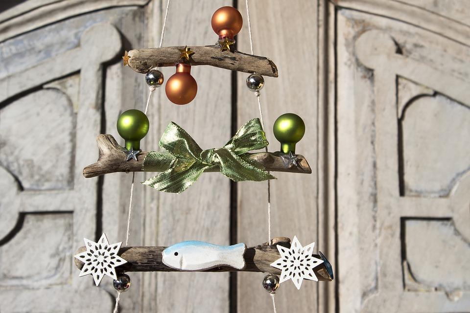 рождественская елка декор