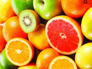апельсины,мандарины,лимоны,киви