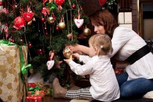 наряжаем елку, новый год, рождество
