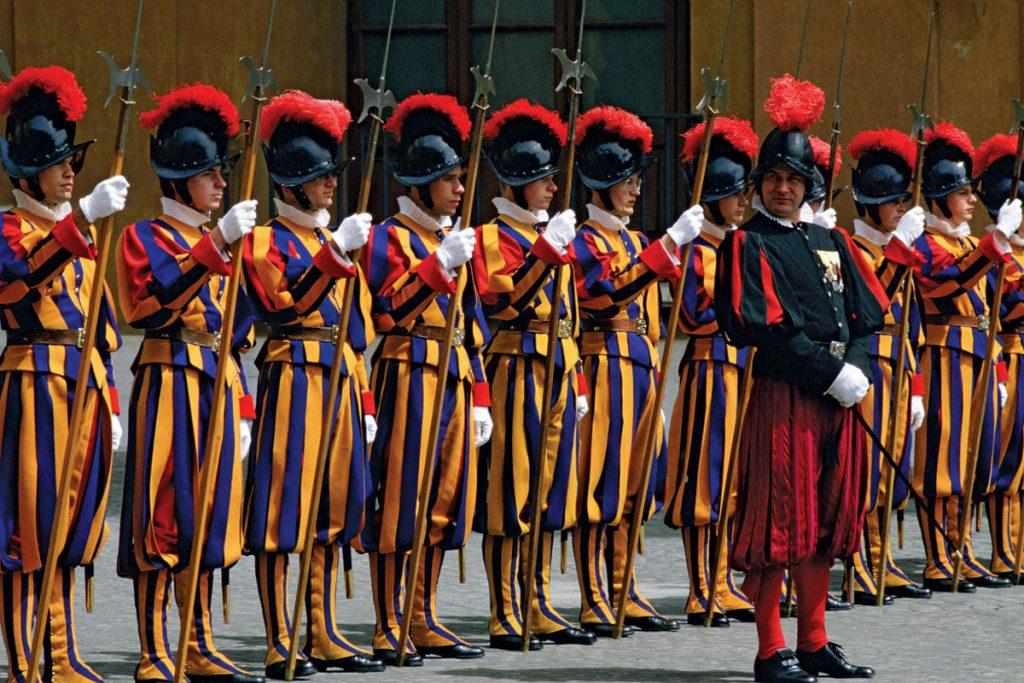 Ватикан, Папа Римский, защита