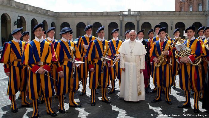 Ватикан, защитники