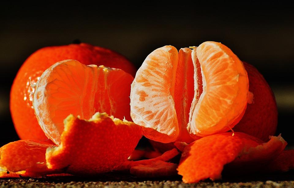мандарины с кожурой польза