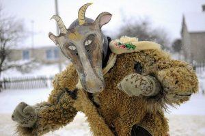 коза,колядники, Рождество