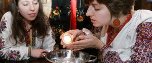святки, гадания, Украина
