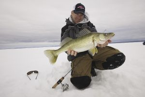 судак,зима, рыбалка