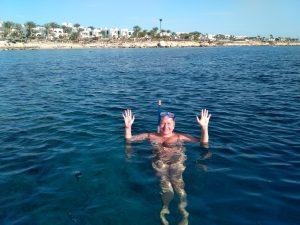 купание в Красном море,Египет