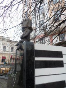 Черновцы, памятник Ференцу Листу