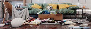 пследствия вечеринки, как убрать квартиру