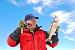 судак,зима,рыбалка