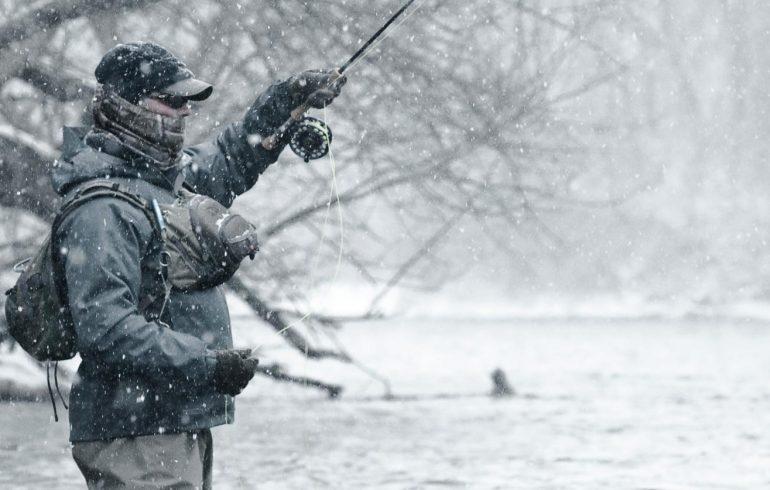 зимняя рыбалка, холод, переохлаждение