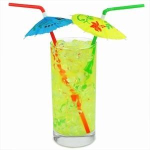 коктейль, соломинка