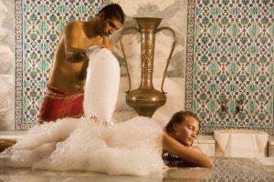 хамам, пенный массаж