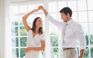 романический танец супругов