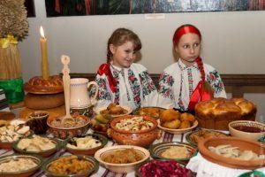 украинская кухня, рождественский стол