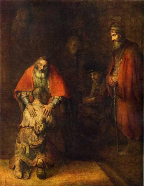 испуство, грех, покаяние, сын, возвращение