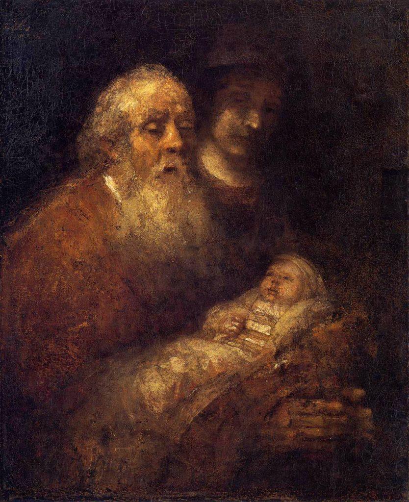 Художники, религия, Сретения, пророчество