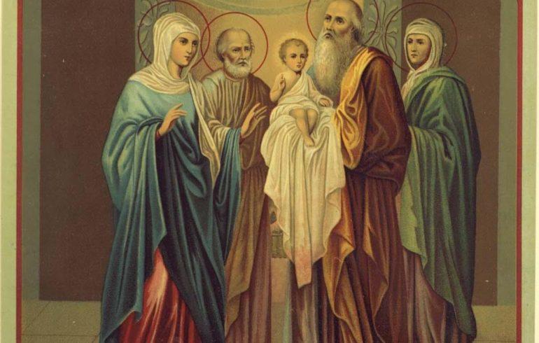 Праздник, религия, Сретение Господне