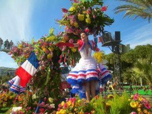 парад цветов в Ницце