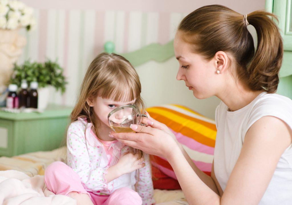 мама и больной ребенок