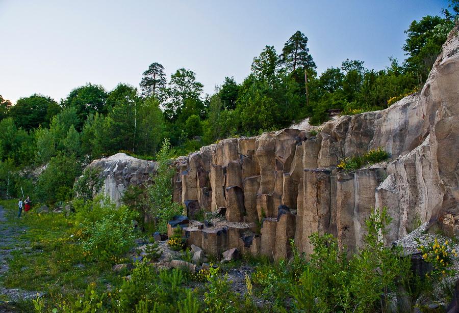 Базальтовые столбы в Ровненской области