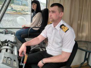 капитан корабля Александр Стафийчук