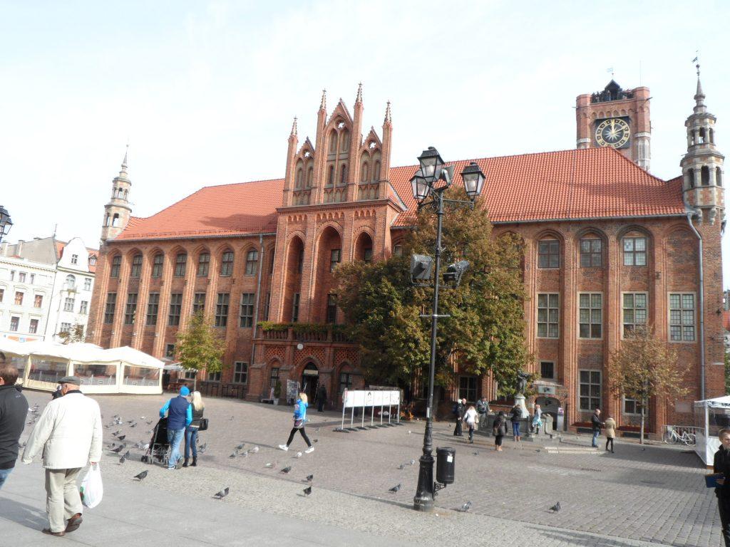Торунь в Польше
