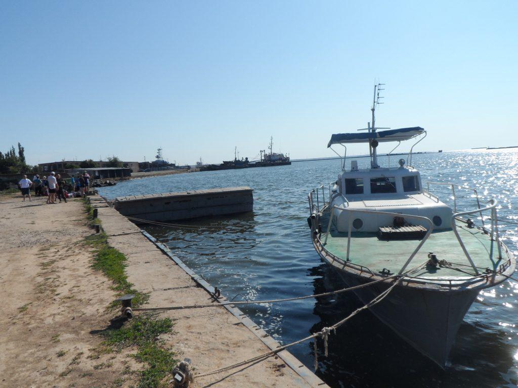 морской порт в Очакове