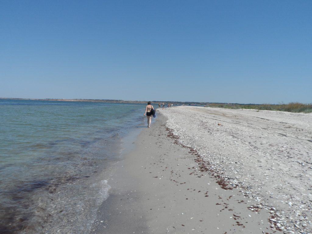 побережье Кинбурнская коса