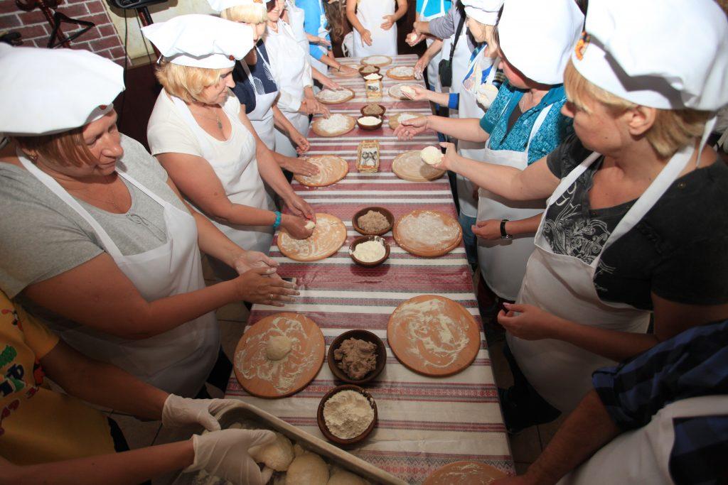 мастер -класс по приготовлению галушек