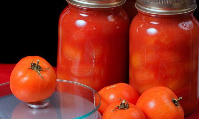 томаты в собственном соу