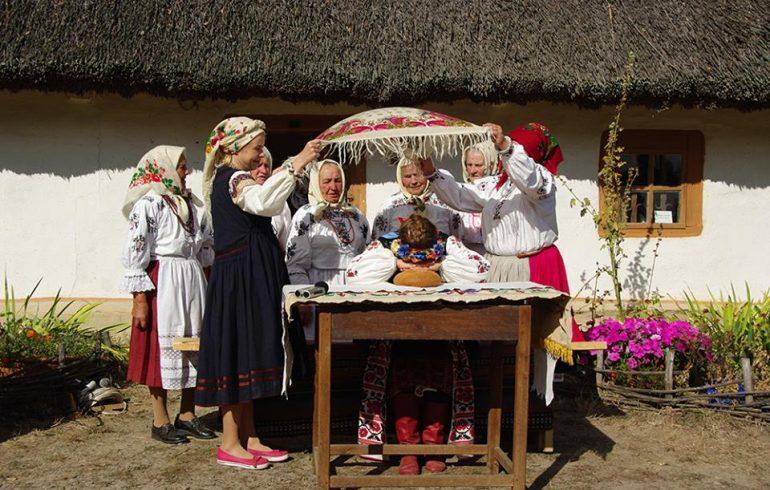 украинский свадебный обряд в Пирогово