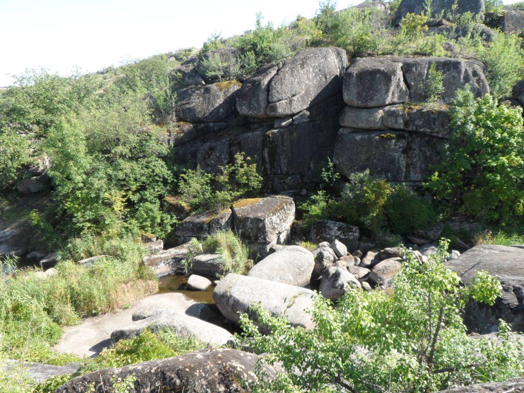 Арбузинский каньон Николаевская область