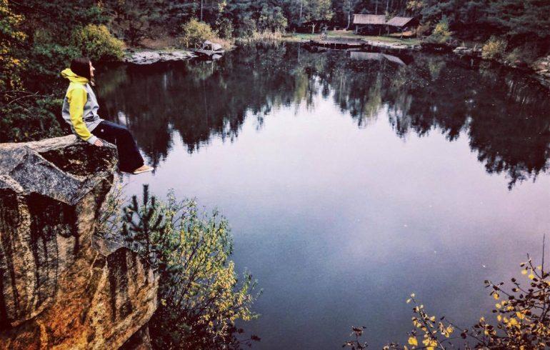 осень в карьере Коростышевский
