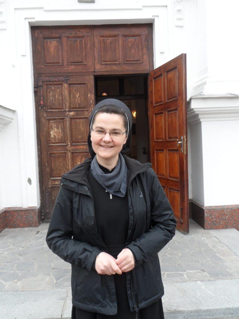 сестра Галина в Коростышеве