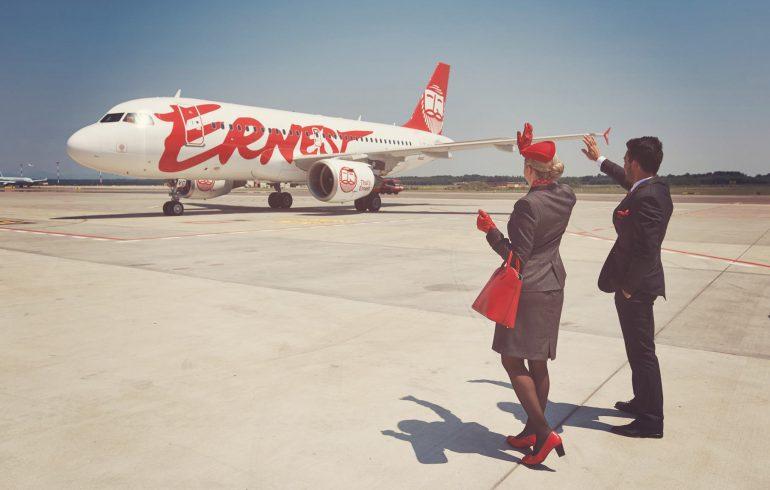Ernest Airlines, Киев, Бергамо, Милан, Венеция