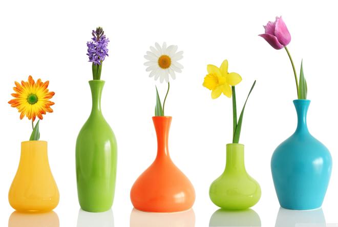 вазы с узким горлышком