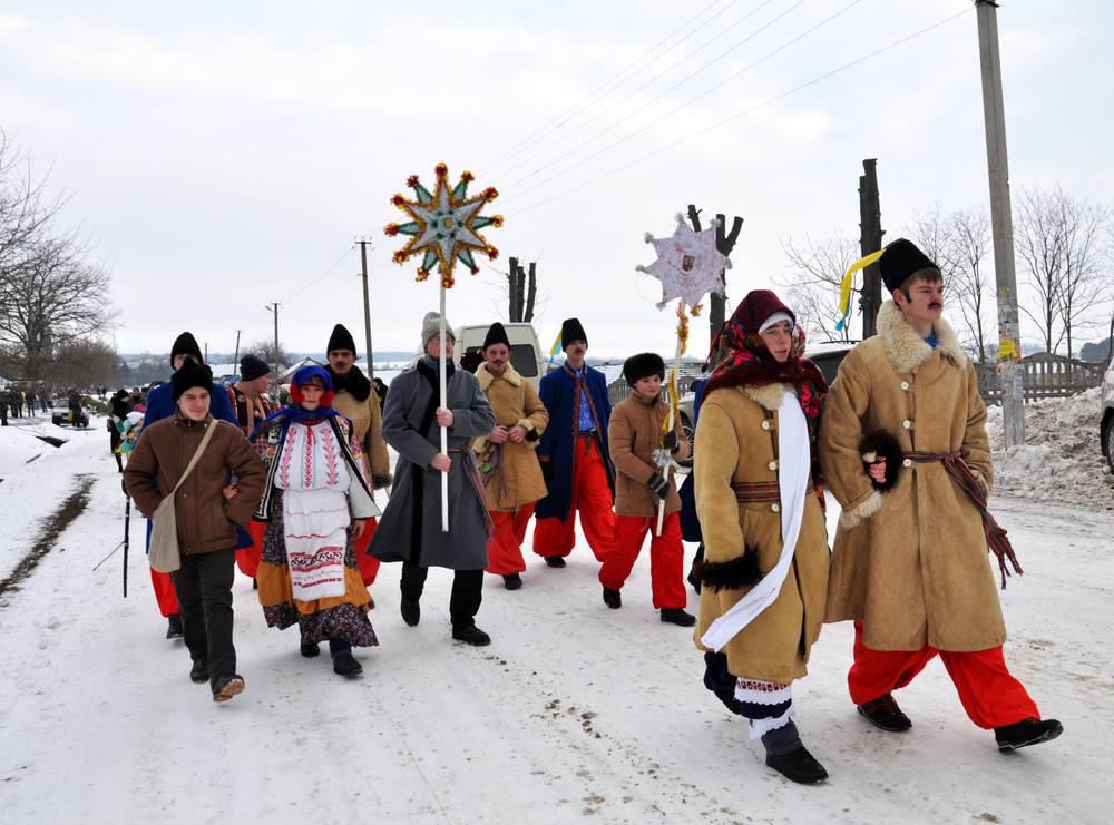 Рождественский вертеп в Украине