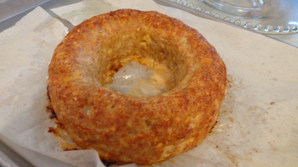 кольцо мясного кекса