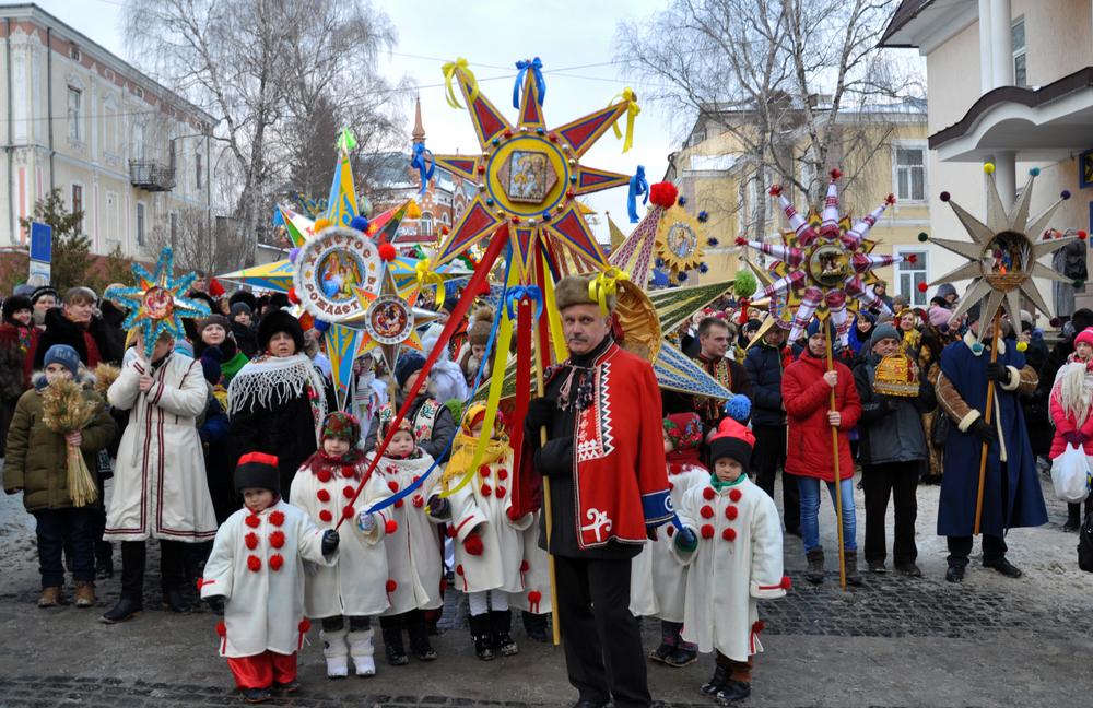 Праздник Рождества в Украине
