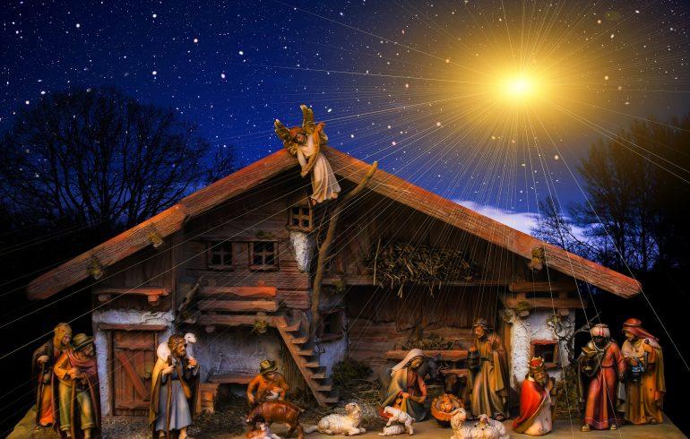 Светлый праздник Рождества вертеп