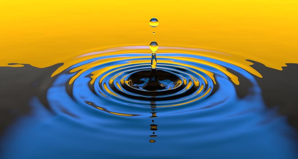 вода и капли