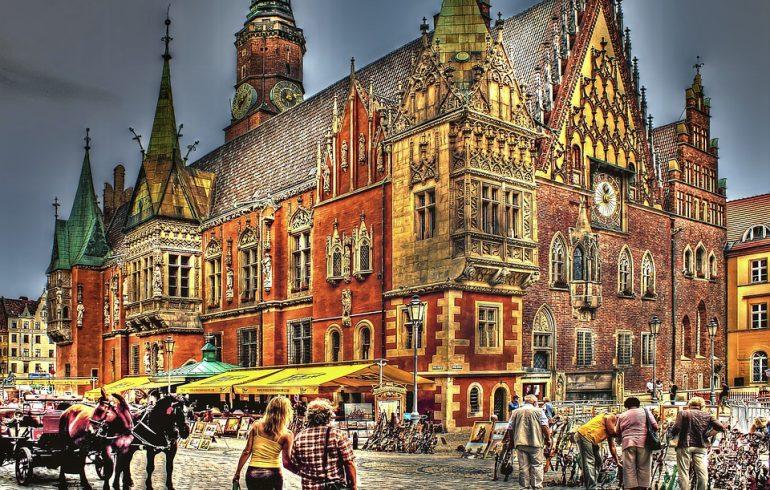 Площадь Рынок во Вроцлаве