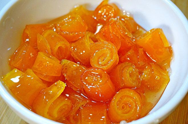 варим варенье из апельсиновых корок