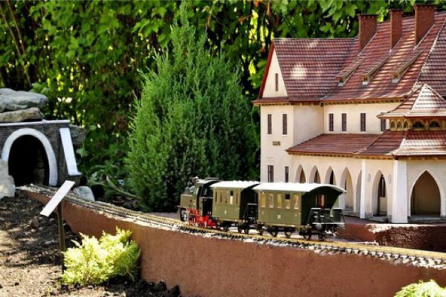 уникальный Парк миниатюр в Яремче