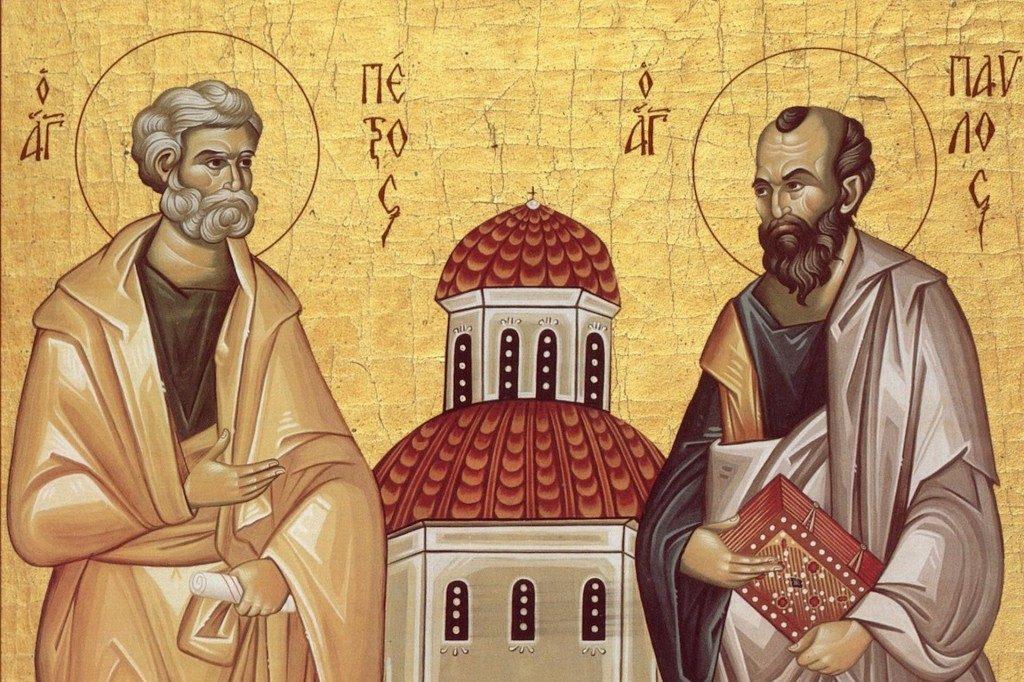 Петров пост установлен в память первоверховных апостолов Петра и Павла