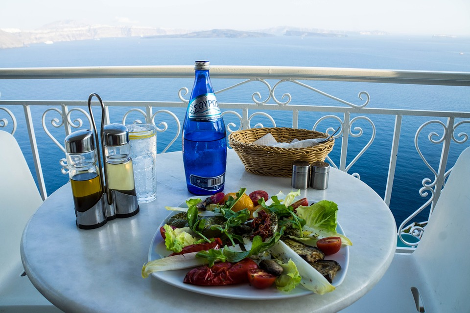 кипрское блюдо в ресторане